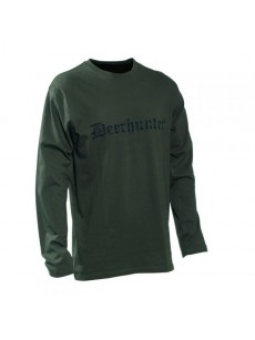 LOGO T-shirt long sleeves (size M) 8938-378