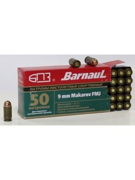 Cartridge pistol sports Barnaul. 9mm Makarov (9 * 18)