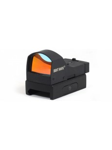 collimator Sightmark Mini panoramic, 2 lv. brightness backlight, mount on Weaver