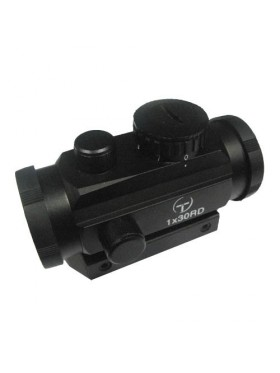 Target Optic 1x30 closed-type collimator on Weaver, backlight point