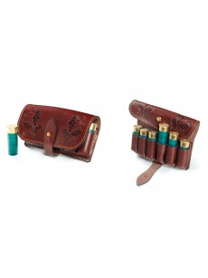 VEKTOR Pouch for 6 rounds of genuine leather