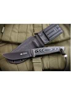 Niikki AUS-8 BT (черный, микарта, ножны кайдекс), Нож