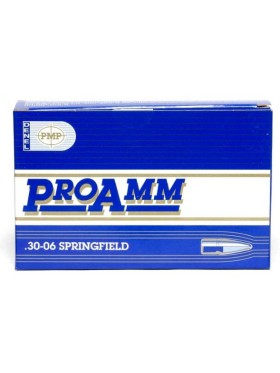 Cartridges PMP cal 30-06, 9,72gr (150grn) SP ProAmm