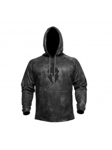 Hoodie sweatshirt TARTAROS HOODIE (typh / blk) (size L)
