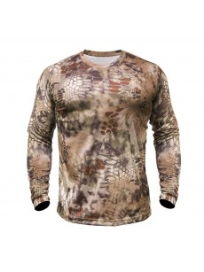 T-shirt HYPERION LS CREW (highlander) (size M)